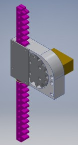 CAD design for my automated door opener